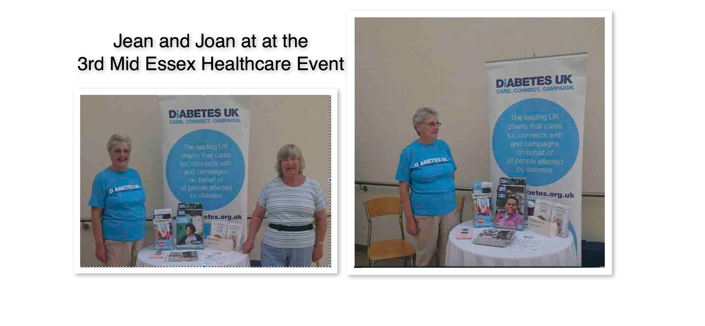 Broomfield Hospital Event 15 September 2016
