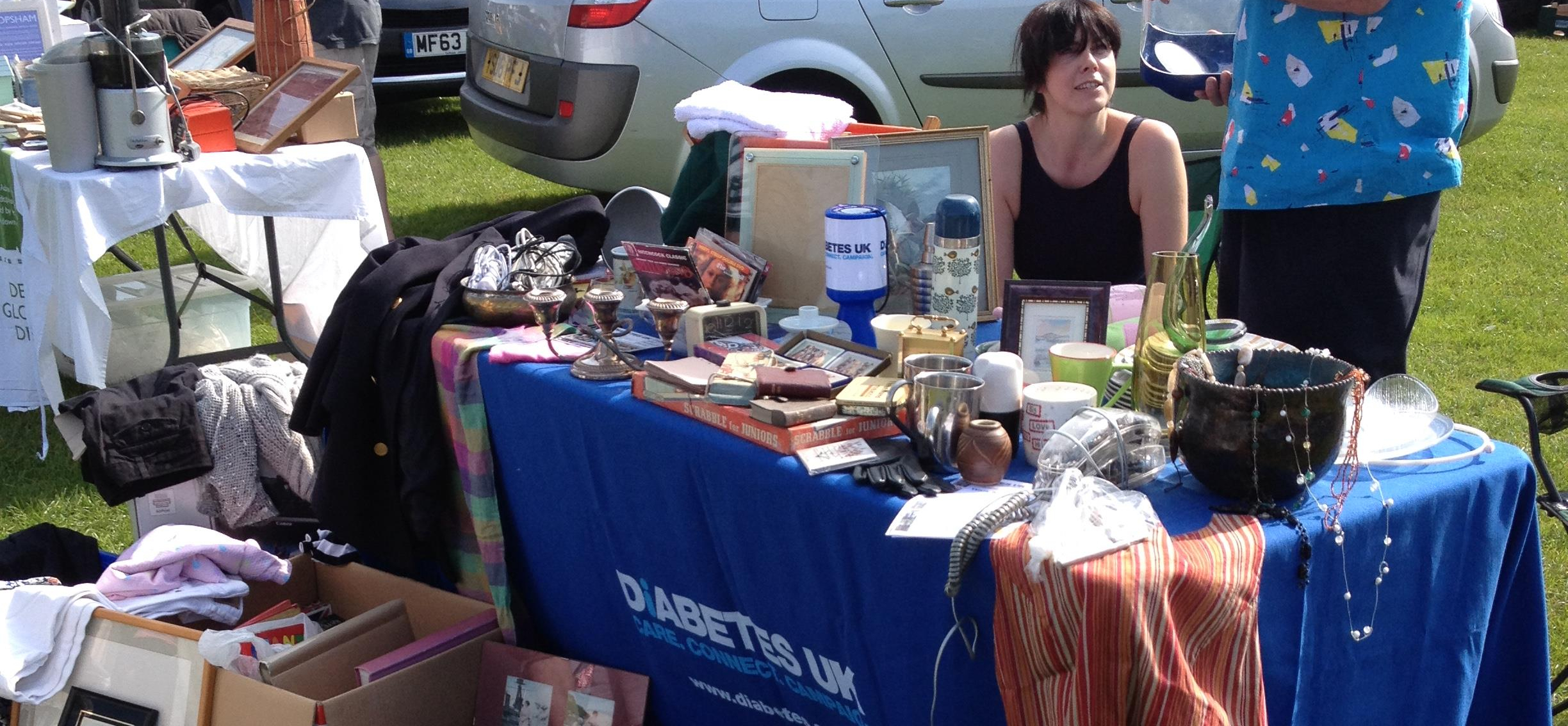 Car boot sale raises £116