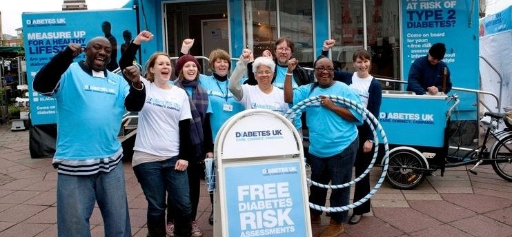 Diabetes UK Know Your Risk Roadshow