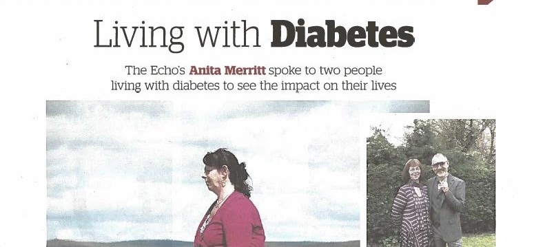 'Living with Diabetes'  - article in Express and Echo