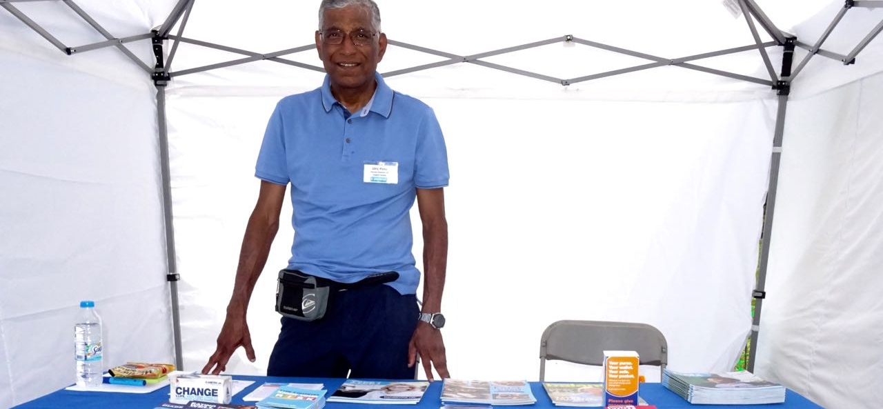 Ulric spreads the word about Diabetes