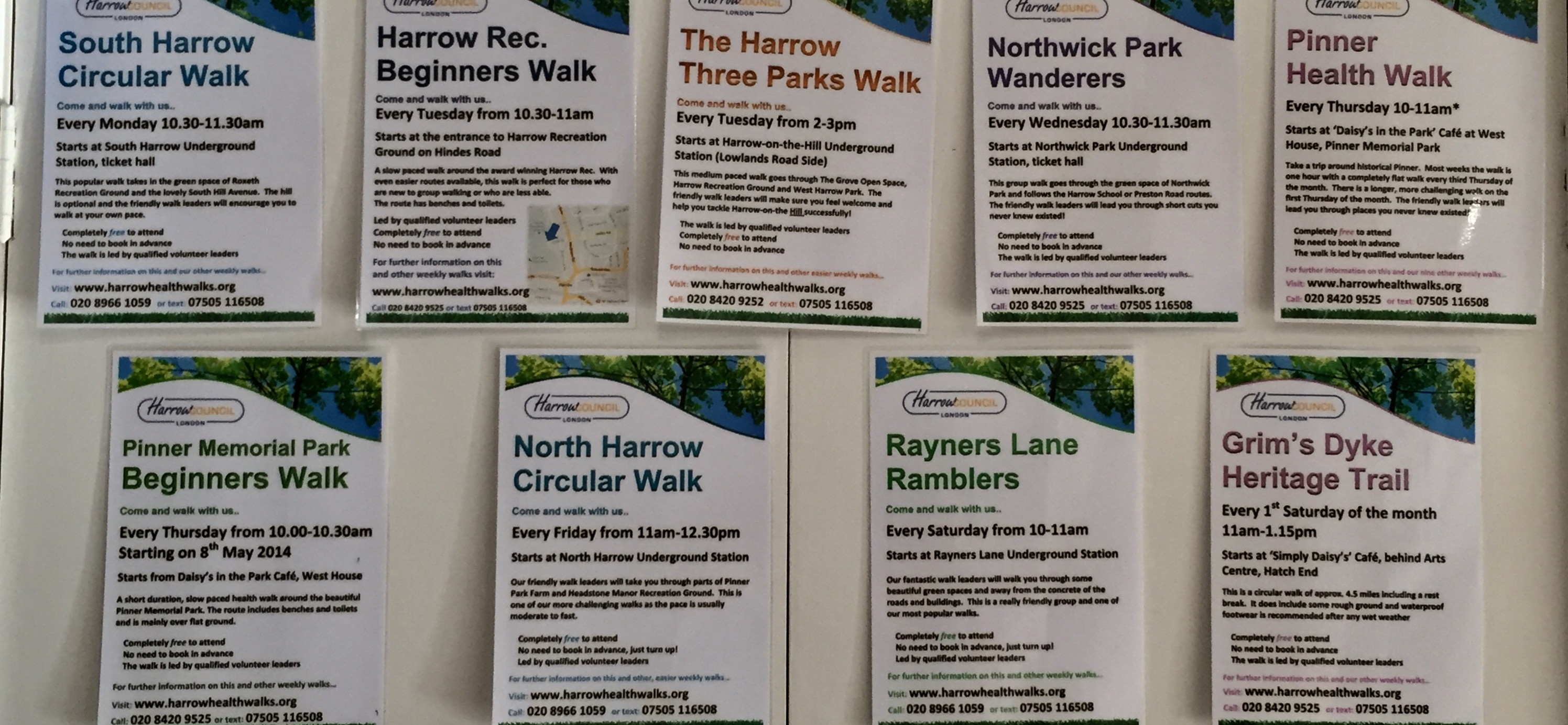 Harrow Health Walks