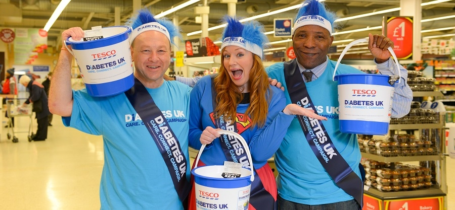 Major new partnership announced between Tesco, Diabetes UK and the British Heart Foundation