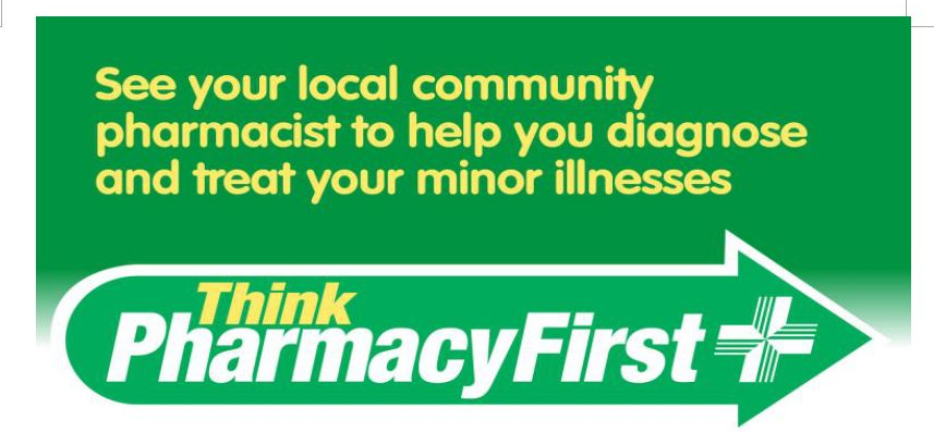 Use your local chemist when help is needed