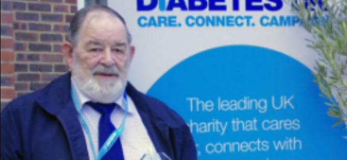 Inspirational Wisbech man is named Diabetes UK Volunteer of the Year
